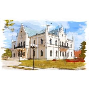 Palatul Cuza din Ruginoasa